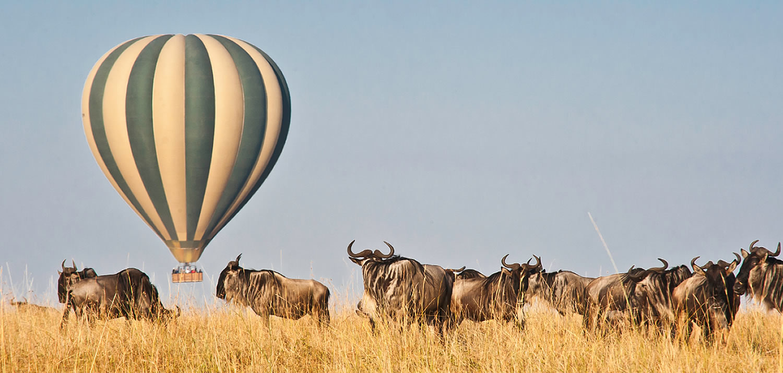Masai mara balloon safari12